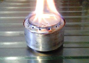 Газовая горелка из пивных банок