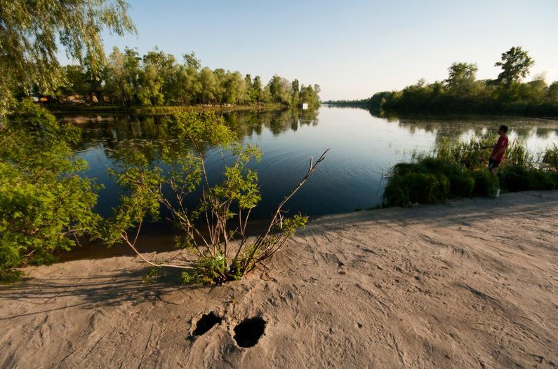 Про рыбалку на реке