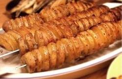 Шашлычки из картофеля
