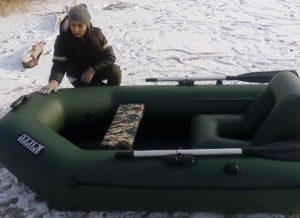 Зимнее хранение надувных лодок