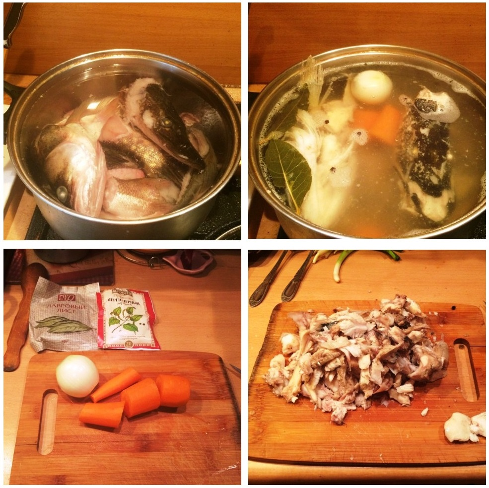 Приготовление рыбного супа