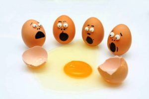 Наживка из яйца